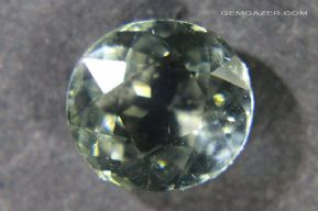 Pale green Verdelite Tourmaline, faceted, Brazil.  5.13 carats.  ** SOLD **